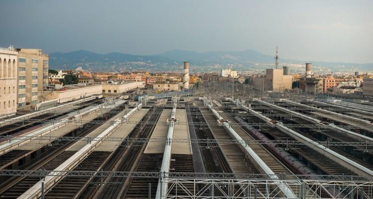 """Stazione Termini, er """"dinosauro"""" de Roma"""