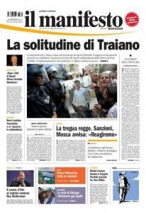 Ciro De Luca su -Il Manifesto-