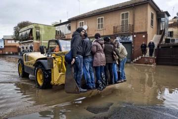 Roma sott'acqua
