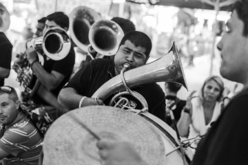 Guca trumpet festival in Serbia