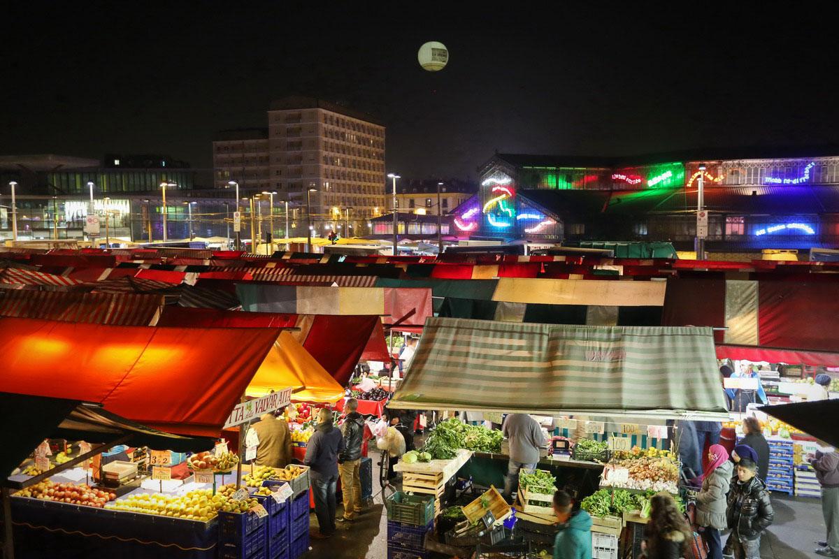 Expo 2015 torino il mercato di porta palazzo - Mercato coperto porta palazzo orari ...