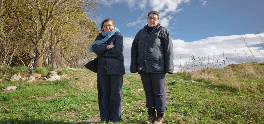 il caso delle sorelle Napoli contro la mafia dei pascoli