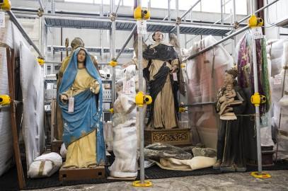 l'arte salvata dal terremoto