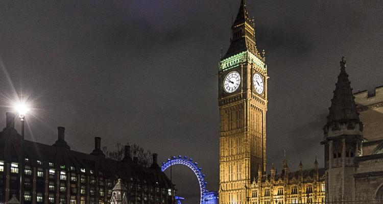 Londra dopo il tramonto