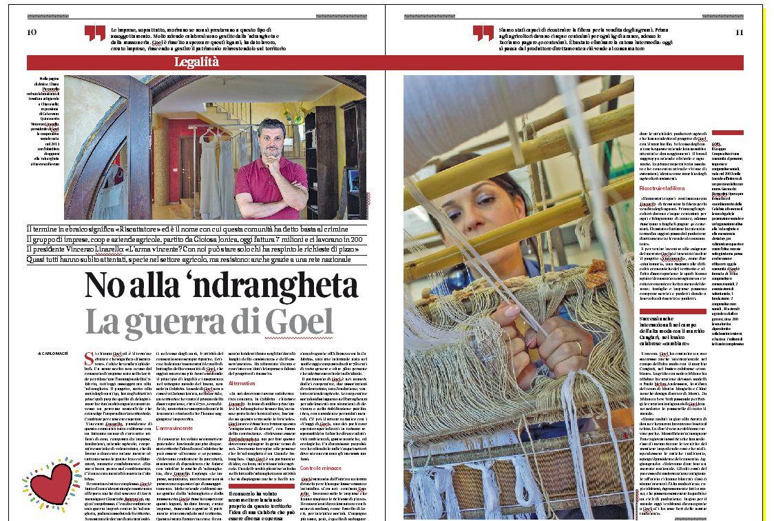 Andrea Sabbadini su Corriere BUONE NOTIZIE