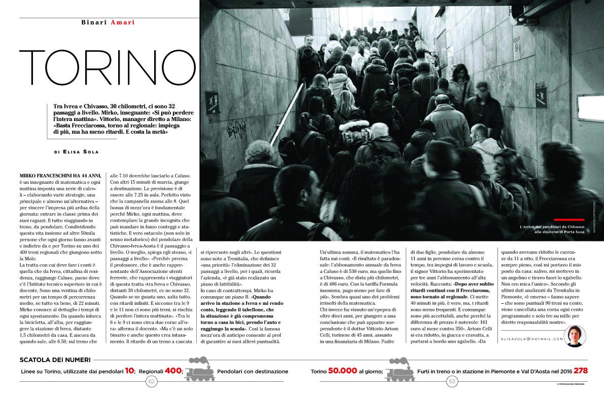 Michele D'Ottavio su SETTE Corriere della Sera