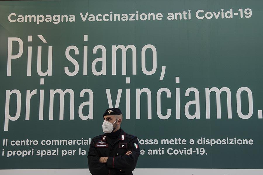 Emergenza Coronavirus - somministrazione vaccini