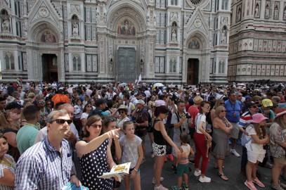 Firenze in ostaggio dei turisti