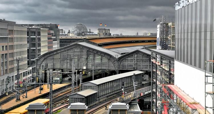 Il treno sopra Berlino