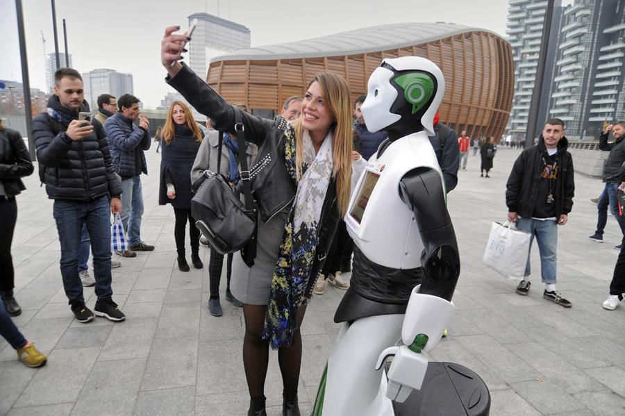 robot a Milano