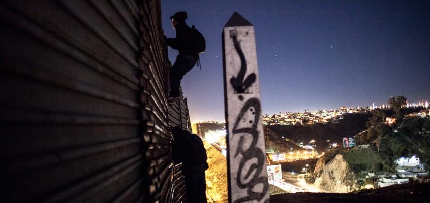 Il muro di Tijuana