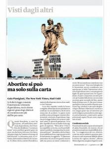 Stefano Montesi su INTERNAZIONALE gennaio 2016