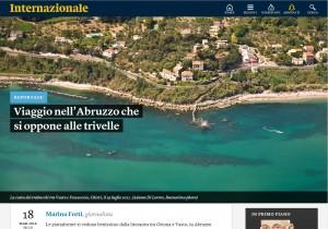 Adamo Di Loreto su INTERNAZIONALE Online