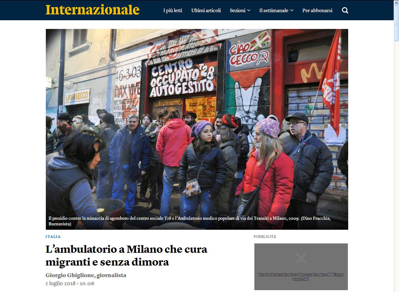 Dino Fracchia su INTERNAZIONALE Online