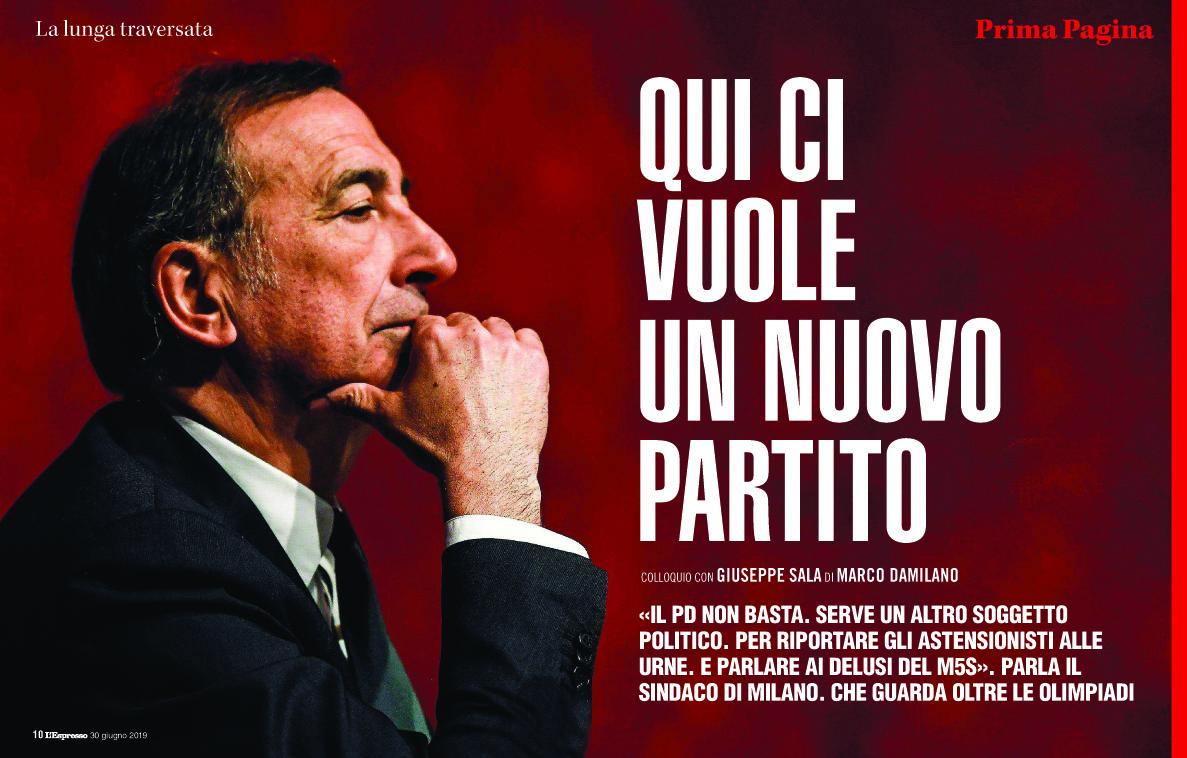 Matteo Biatta su L'ESPRESSO
