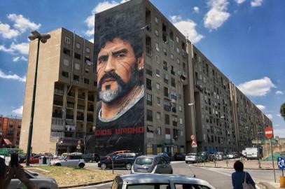 Napoli, Santo Maradona