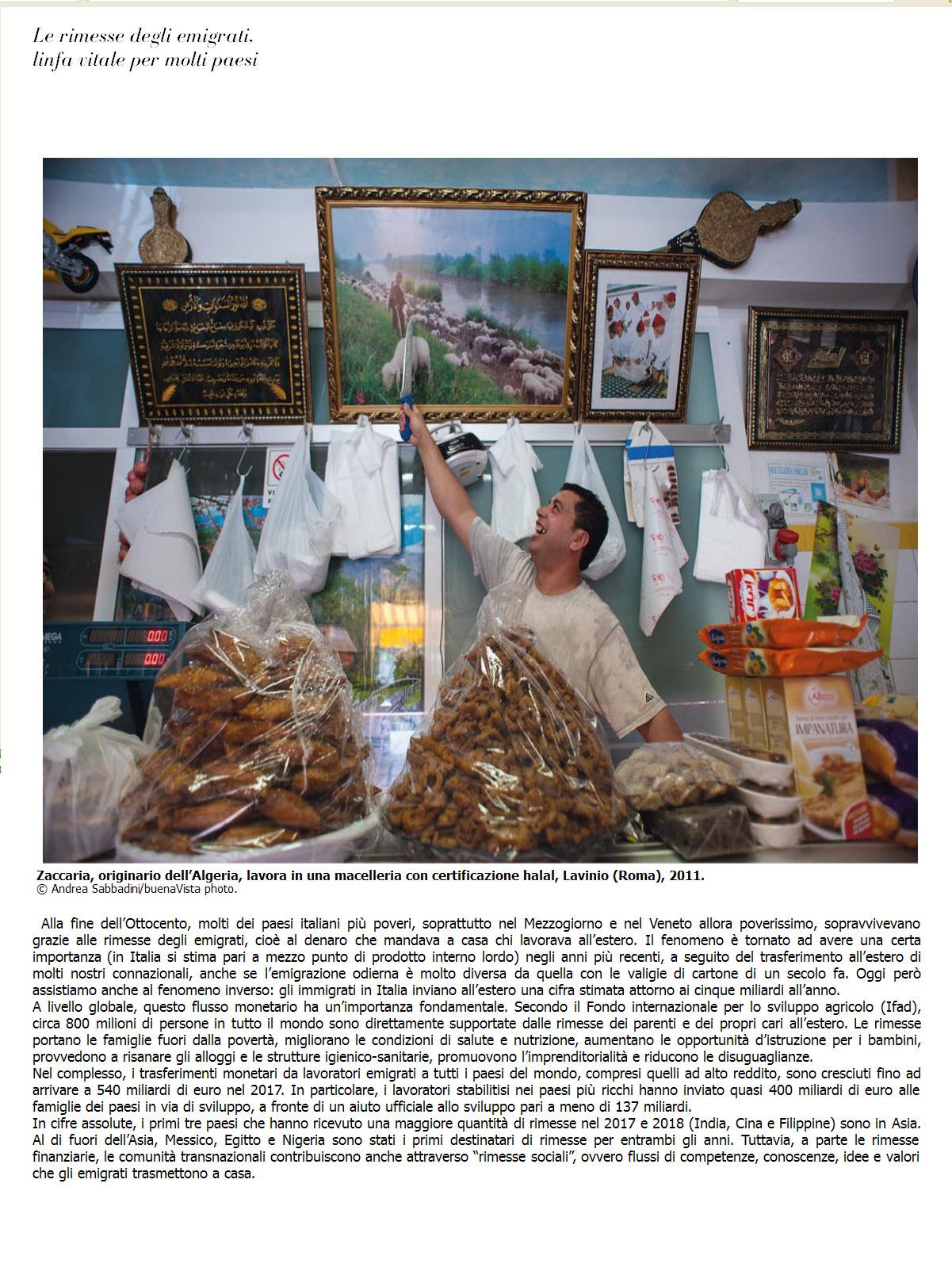 Andrea Sabbadini su UN MONDO SOSTENIBILE IN 100 FOTO, edizioni LATERZA