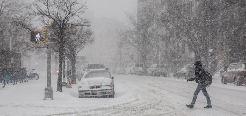 "Gennaio a New York, the ""Bomb Cyclone"""