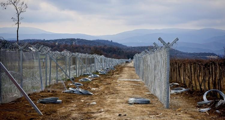 Grecia, la frontiera con la Macedonia