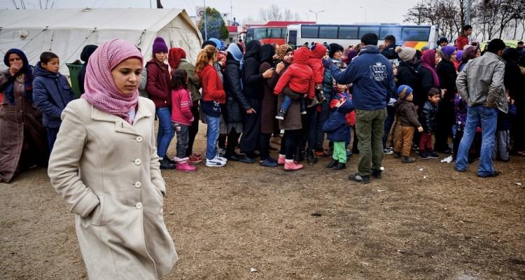Profughi al confine Grecia-Macedonia