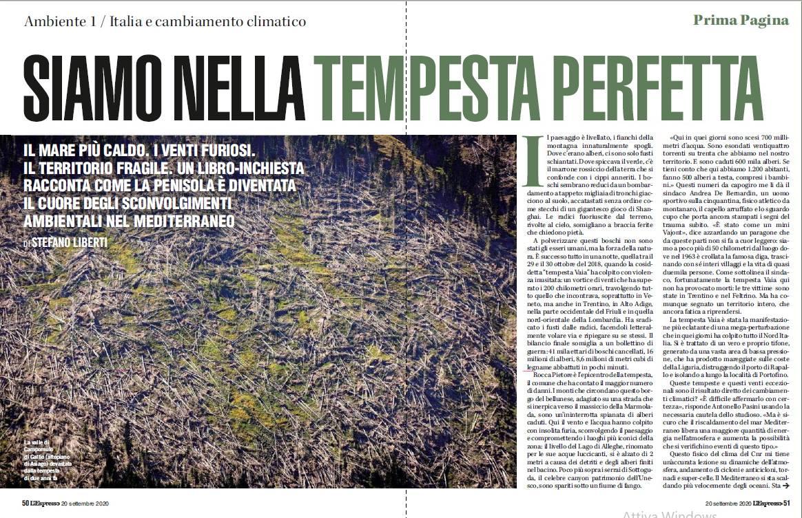 Stefano D'Amadio su L'ESPRESSO