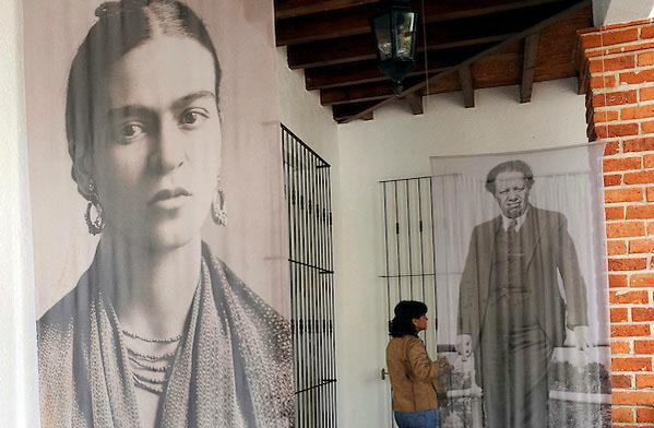 """La """"Casa Azul"""" di Frida Kalho"""