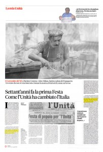 Dino Fracchia su L'UNITA'