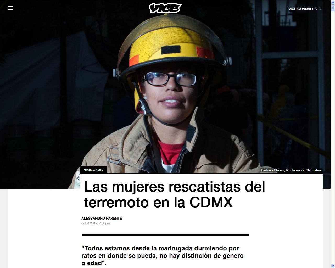 Alessandro Parente su VICE Mexico Online