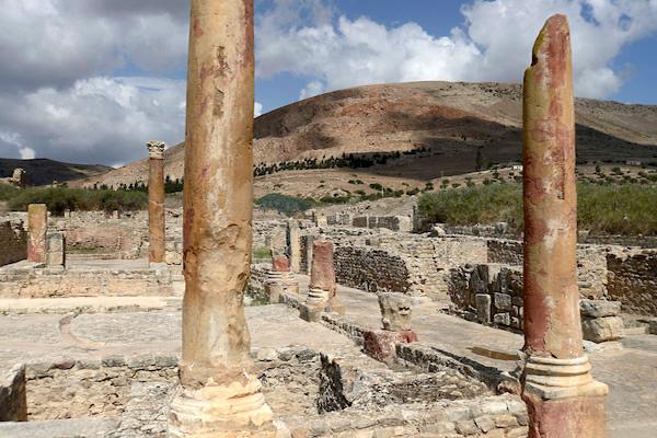 Bulla Regia, antica città romana in Tunisia