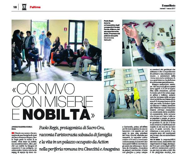 Andrea Sabbadini su IL MANIFESTO marzo 2017