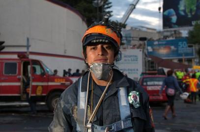 """le """"Rescatistas"""" di Città Del Messico"""